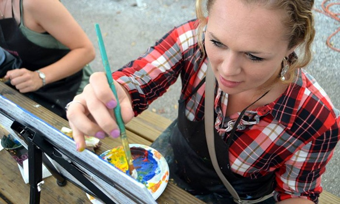Heartsy - Miami: Painting Classes for One, Two, or Ten at Heartsy (Up to 58% Off)