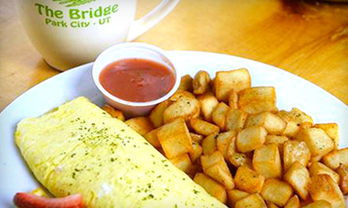 The Bridge Cafe and Grill - Park City: $15 for $30 Worth of Brazilian-Style American Food at The Bridge Cafe and Grill