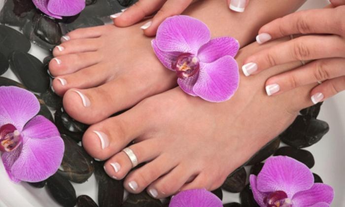 Envi Nails Spa - Hamilton Township: Hibiscus Manicure, Specialty Pedicure, or Princess Mani-Pedi at Envi Nails Spa in Hamilton Township (Up to 66% Off)