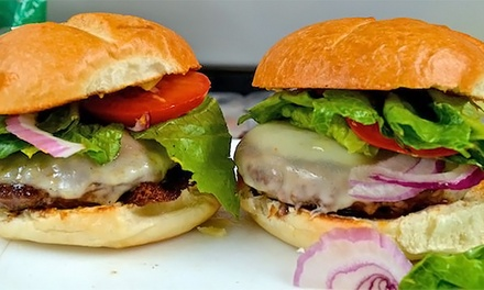 $13 for $20 Worth of Specialty Burgers and Dogs at The Zingaro