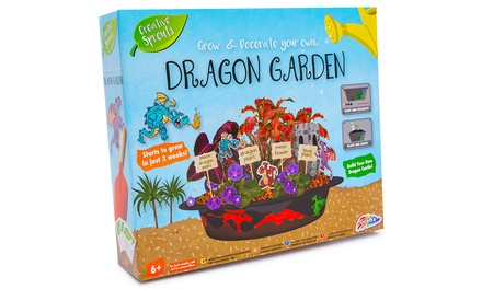 Grow and Decorate Your Own Dragon Garden