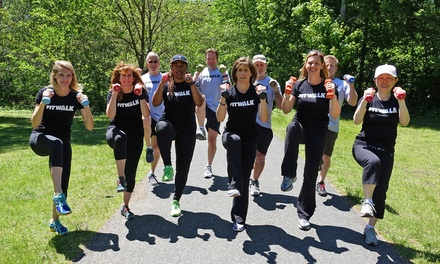 One or Two Months of Unlimited FitWalk Group Classes from Tracey Gerety (67%