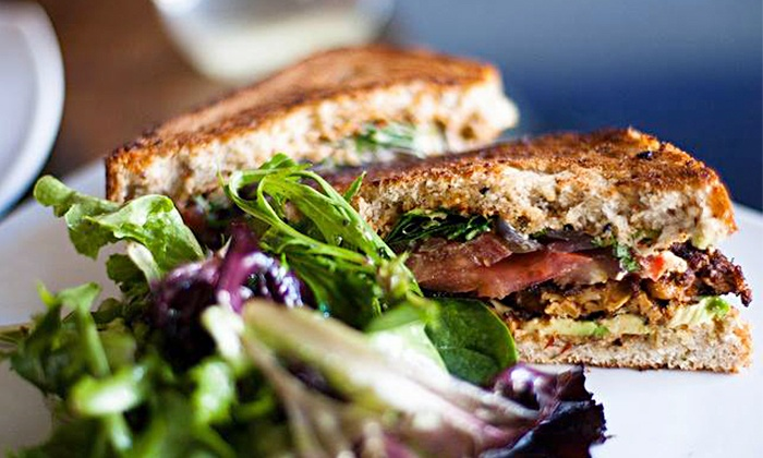 Plum in Seattle Center - Lower Queen Anne: Organic Vegan Catering from Plum in Seattle Center (Up to 45% Off). Three Options Available.