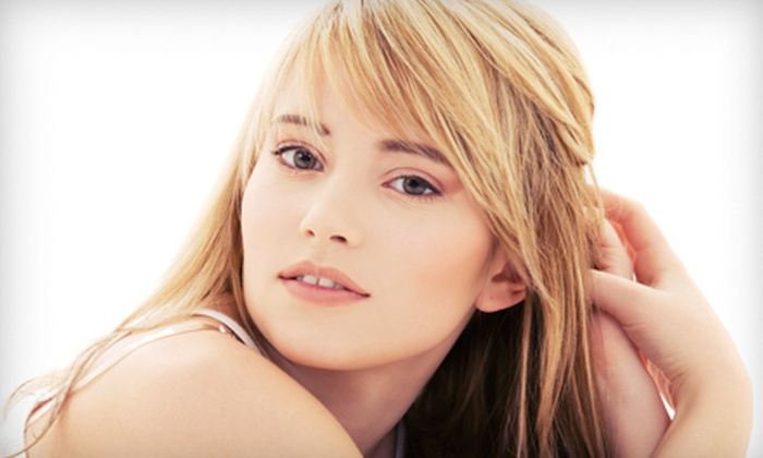 Jus Hair Salon - Dunwoody: Haircut and Style with Optional Partial or Full Highlights at Jus Hair Salon (Up to 57% Off)