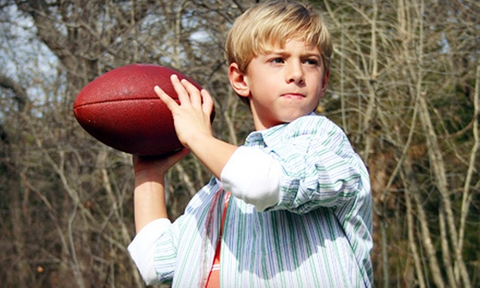 Shula's Athletic Club - Miami Lakes Town Center: $74 for an 8- to 10-Week Youth-Flag-Football Program at Shula's Athletic Club ($189 Value)