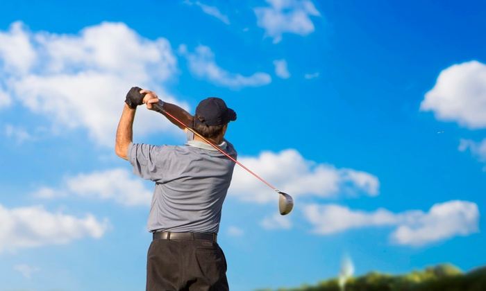 Golf Zone Outlet - Pineville: One, Three, or Five 45-Minute Golf Lessons with Club Fitting at Golf Zone Outlet (Up to 62% Off)