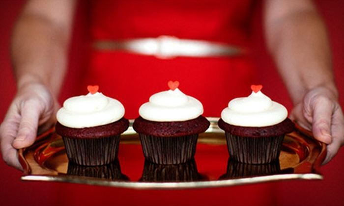 Trophy Cupcakes and Party - Multiple Locations: $19.50 for One Dozen Classic Cupcakes at Trophy Cupcakes and Party ($38.50 Value)