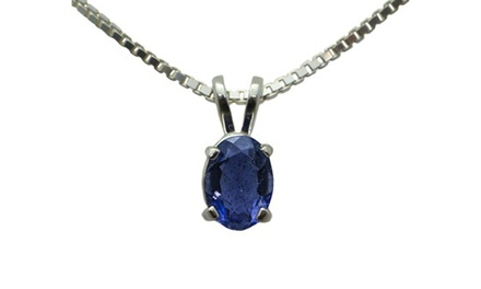SS Iolite Pendant with Chain, Lever Back Earrings, or Criss Cross Rope Ring at Smokin Joes (Up to 55% Off)