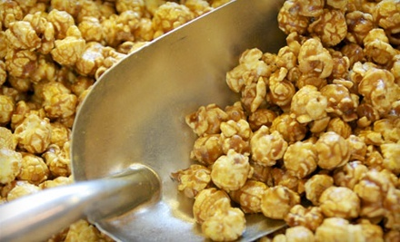"$10 for $20 Worth of Gourmet Popcorn at Le""Popcorn and Candy"