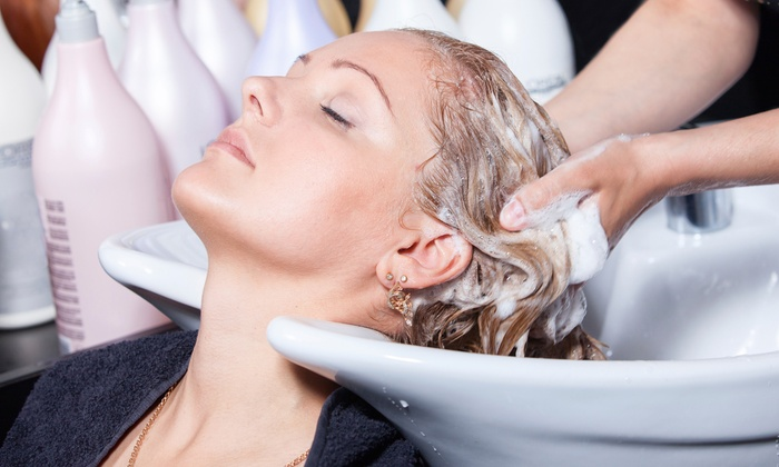 Tande Hair Studio - Tande Hair Studios at Salons by JC: $42 for a Women's Haircut with Peppermint Scalp Massage, Deep Conditioner, and Style at Tande Hair Studio ($80 Value)