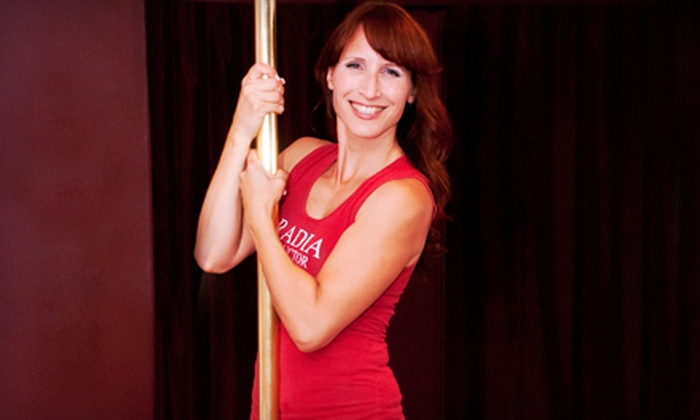 Aradia Fitness - Oakville: Intro-Teaser to Pole-Dancing and Sensual Fitness Class for One or Two at Aradia Fitness (Up to 56% Off)