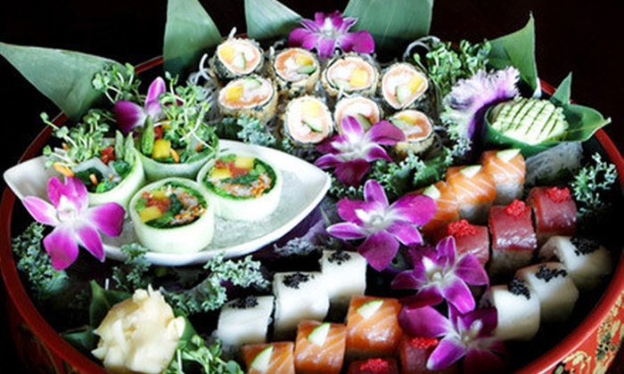 Asian Fin Restaurant - Cielo Townhomes at The Shops of Donald Ross: Asian-Fusion Dinner and Drinks for Two or Four at Asian Fin Restaurant (Up to 53% Off)