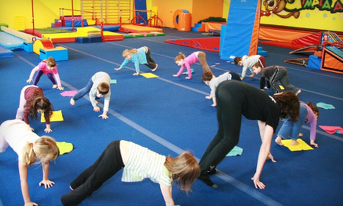 Gymalaya - Multiple Locations: Two Days of Kids' Summer Camp or Nine-Week Gymnastics Class at Gymalaya (Up to 71% Off). Two Locations Available.