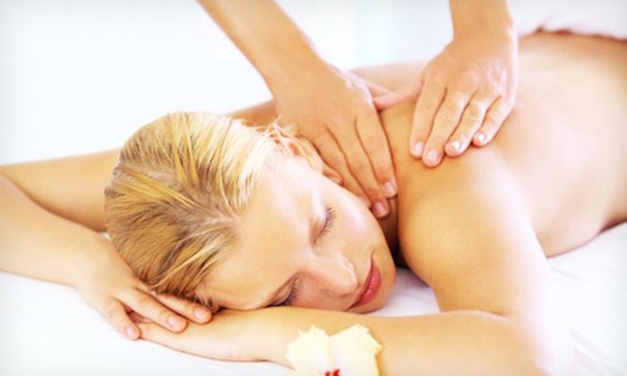 Venetian Sun Massage - Flower Mound: 60-Minute RainDrop-Therapy Treatment or Swedish Couples Massage at Venetian Sun Massage (Up to 54% Off)