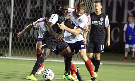 Atlanta Silverbacks Match for Two or Four with Souvenir Scarf at Atlanta Silverbacks Park on October 25 (Up to 54% Off)
