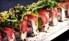 Tsunami Sushi & Lounge - Logan Circle - Shaw: $20 for $40 Worth of Japanese Cuisine at Tsunami Sushi & Lounge