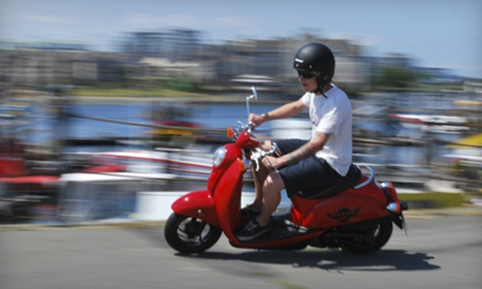 Cycle BC Rentals - Mt. Pleasant: $20 for a Two-Hour Scooter Rental with Gas and Insurance from Cycle BC Rentals ($47.04 Value)