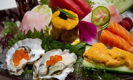 Sushi Dinner for Two or Four at Fushimi Modern Japanese Cuisine & Lounge (Up to 51% Off)