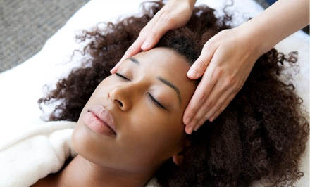 Custom Facial with Optional Full-Body Exfoliation or Brow Wax at Urban Escape Massage & Bodywork (Up to 53% Off)