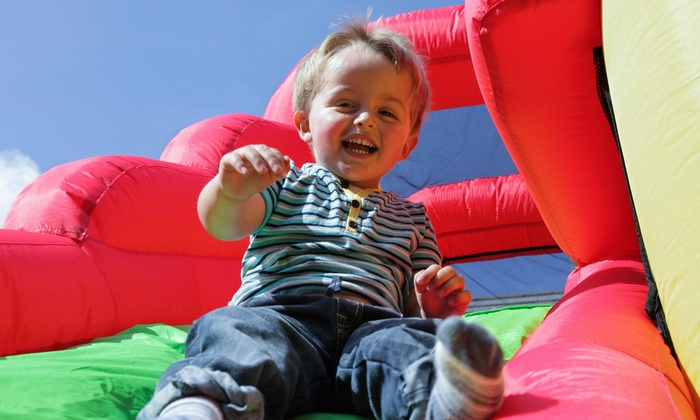 Pump It Up Glenview - Glenview: 5 or 10 Kids' Bounce-House Visits to Pump It Up Glenview (Up to 50% Off)