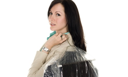 Dry Cleaning for New Customers or Comforter Cleaning for Existing Customers at 5 Star Cleaners (Up to 48% Off)
