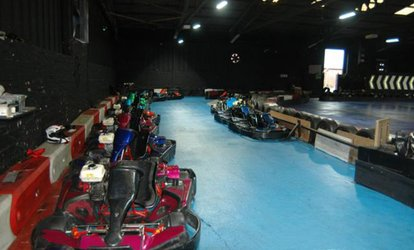 50 Laps of Indoor Go-Karting for One, Two or Four at Ace Karting Plus (50% off)