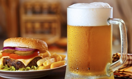 $15 for $30 Worth of American Cuisine and Drinks at The Lazy Gator Bar
