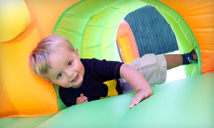 Jump Mania - Springfield: Indoor Inflatable Playground Visits at Jump Mania (Up to 53% Off)