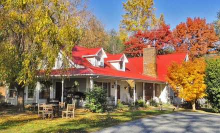 groupon daily deal - 2-Night Stay for Two  at Blue Ridge Manor Bed & Breakfast in Cana, VA