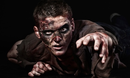 $25 for Zombie-Attack Haunted Hayride VIP Package at Paintball Central Greensboro ($69 Value)