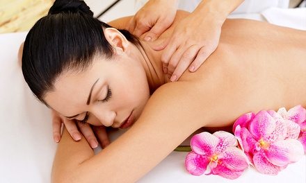 Back, Neck and Shoulder Massage With Facial at Mews Beautique