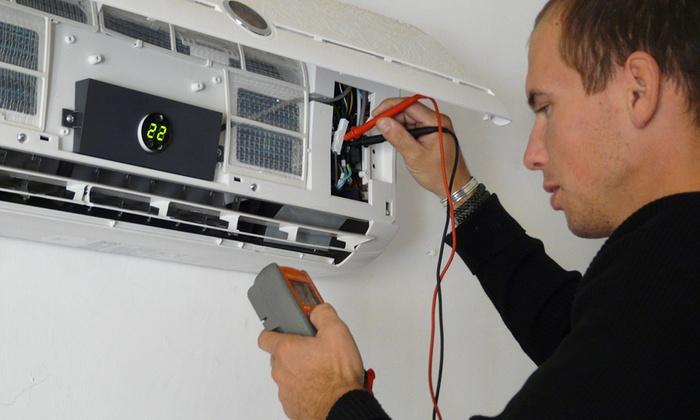 Check up base o avanzato del condizionatore fino a 3 split da 19,90 €