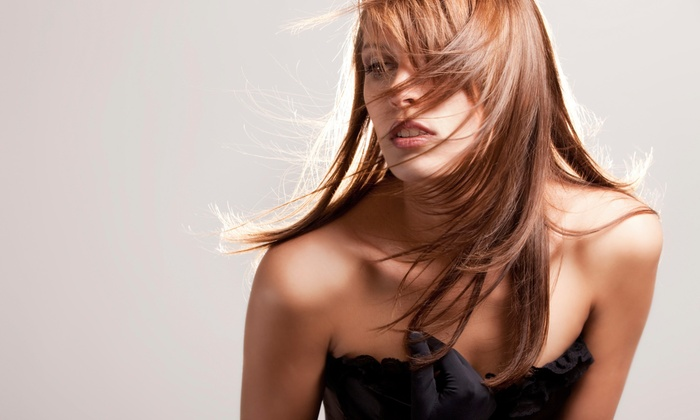 De La Muse Salon and Spa - Folsom: Haircut with Optional Partial Highlights, Full Color, or Full Highlights at De La Muse Salon and Spa (Up to 62% Off)