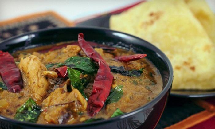 Suvai Classic Indian Cuisine - Oakville: C$12.50 for C$25 Worth of Indian Food at Suvai Classic Indian Cuisine