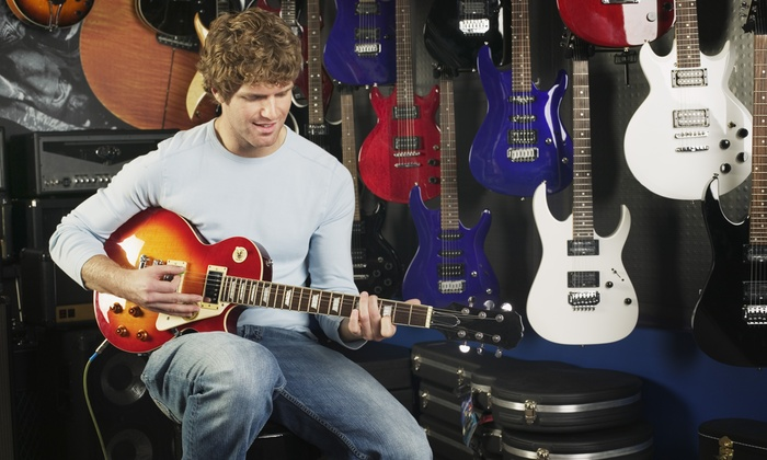 La Rock Sessions - Los Angeles: One Hour Guitar Lesson with Alex Feather at LA Rock Sessions (50% Off)