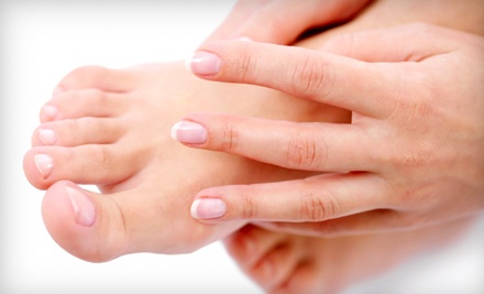 Mani-Pedi Package (an $80 value) - 221 Degrees Spa and Salon in Mississauga