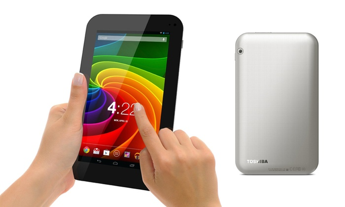 "Toshiba Excite 7"" 8GB Android Tablet: Toshiba Excite 7"" 8GB Android Tablet (AT7-A8). Free Returns."