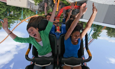 $50 for 1 Ticket to Rainbow Days At Six Flags Over Georgia June 28 and White Water Entry ($162.44 Value)