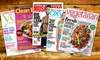 Health and Wellness Magazines: 1-Year Subscription to Health and Wellness Magazines; Titles Includes Clean Eating or Yoga Journal