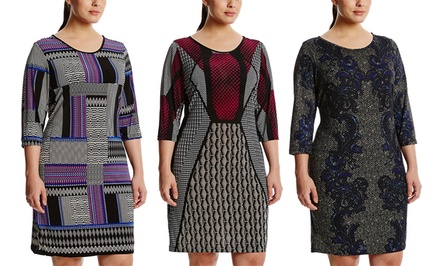Mlle Gabrielle Plus-Size Fitted Dresses | Brought to You by ideel