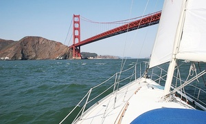 Golden Gate Sailing Tours: $69 for Three-Hour Sailing Tour for Two from Golden Gate Sailing Tours (Up to $150 Off)