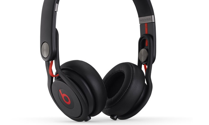 casque beats mixr by dr dre noir reconditionn groupon. Black Bedroom Furniture Sets. Home Design Ideas