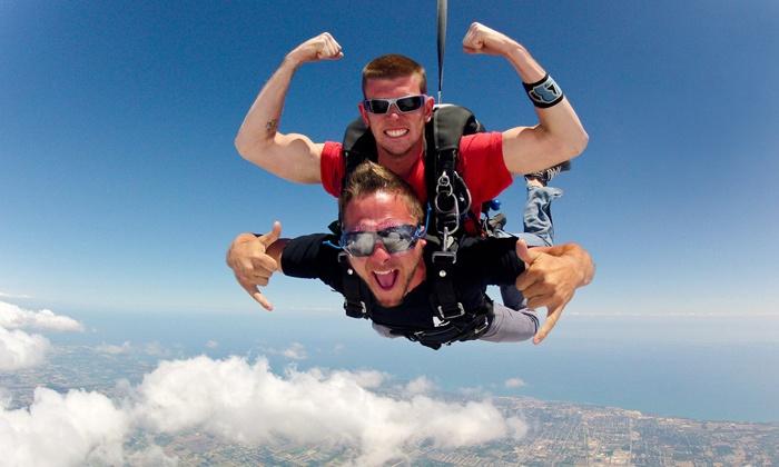 Skydive Midwest - Sturtevant: $149 for a Tandem Jump from Skydive Midwest in Sturtevant (Up to $229 Value)