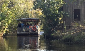 Up to 47% Swamp Tours from Jean Lafitte Swamp Tours at Jean Lafitte Swamp Tours, plus 6.0% Cash Back from Ebates.