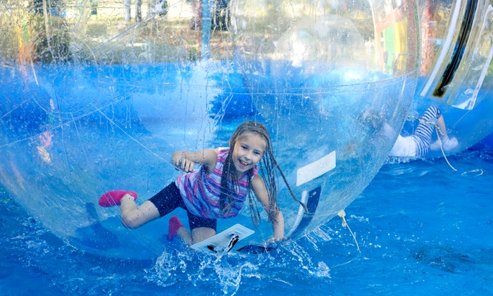 Bubble-Me-Up - Tampa Bay Area: $199 for Aquatic Bubble-Ball Rental for up to 2 Hours for Bubble-Me-Up ($325 value)