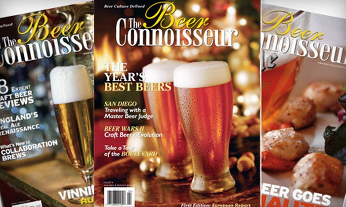 """The Beer Connoisseur"": Two-Year Subscription or 20-Year Lifetime Subscription to ""The Beer Connoisseur"" Magazine (Up to 54% Off)"