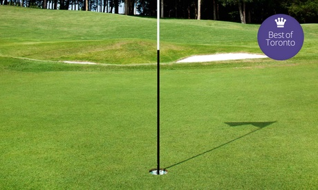 $68 for 18 Holes of Golf for Two with a Golf Cart at Knollwood Golf Club ($136 V...