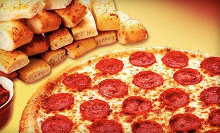 $10 for $20 Worth of Pizza, Breadsticks, and Salads for Carry-Out at Hungry Howie's Pizza
