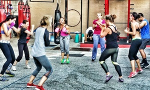 220 Fitness: Second-To-None: 5 or 10 Boxing Classes or 3 or 6 Fitness Classes at 220 Fitness: Second-To-None (Up to 89% Off)