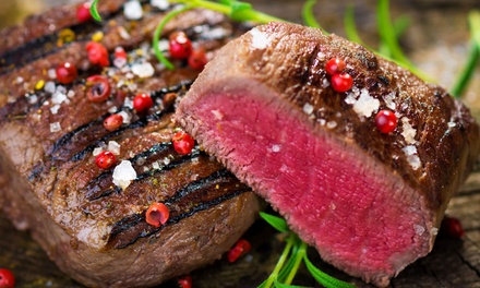 Steak Meal with Two Sides for Two or Four at Signature Grill & Wine Bar